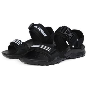 Adidas阿迪达斯男鞋女鞋越野运动鞋沙滩鞋凉鞋EF0016