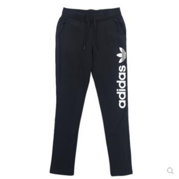 阿迪达斯三叶草针织运动长裤AJ7666