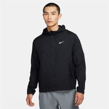 NIKE耐克男子运动跑步连帽夹克外套CU5359-010