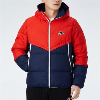 NIKE耐克男装保暖防风运动休闲外套羽绒服CU4405-673