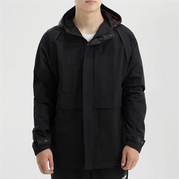adidas阿迪达斯男装防风运动休闲夹克外套GF4018