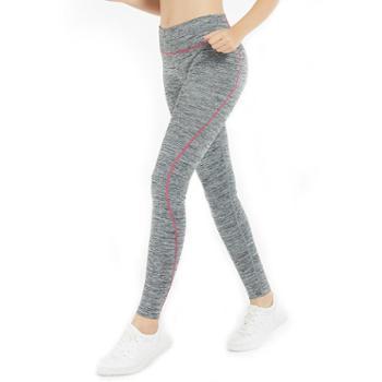埃尔蒙特ALPINTMOUNTAIN时尚健身运动瑜伽服弹力紧身透气运动长裤