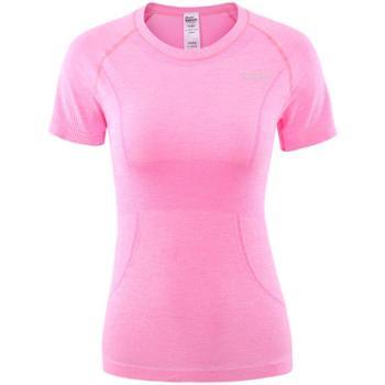 埃尔蒙特ALPINTMOUNTAIN女款跑步运动健身短袖T恤650-910