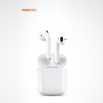 Recci锐思G10T双耳蓝牙V5.0真无线智能弹窗链接、无线充电