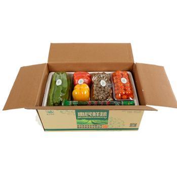 翠仙牌 惠民蔬菜礼盒 礼品套菜D款 10种 新鲜 绿色食品