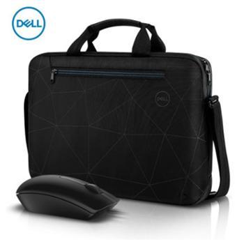戴尔15寸单肩包笔记本单肩包笔记本包鼠套装