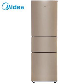 美的/Midea三门三温家用冰箱冷藏冷冻大容量保鲜节能省电静音BCD-213TM(E)