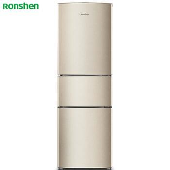 容声/Ronshen三门冰箱中门软冷冻静音节能冰箱家用小型BCD-217D11N
