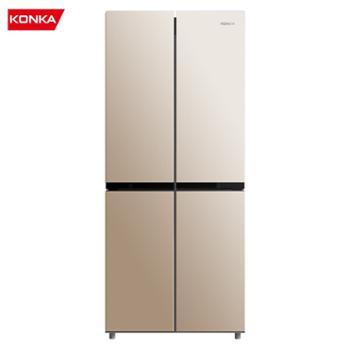 康佳/Konka十字对开门冰箱风冷无霜家用冰箱BCD-308WEGX4S
