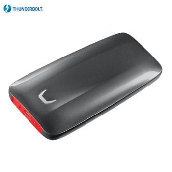 三星/SAMSUNG2TBThunderbolt3雷电3接口移动硬盘固态(PSSD)X5