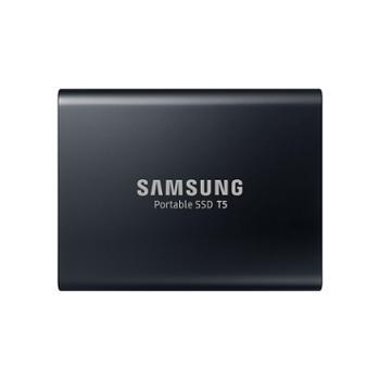 三星/SAMSUNG1TBType-cUSB3.1移动硬盘T5玄英黑定制版