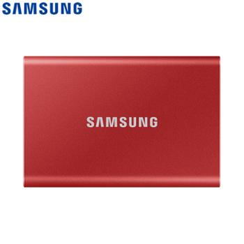 三星/SAMSUNG1TBType-c移动硬盘固态PSSDT7MU-PC1T0R