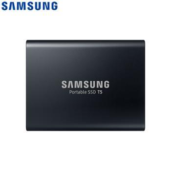 三星/SAMSUNG1TBType-cUSB3.1移动硬盘T5玄英黑