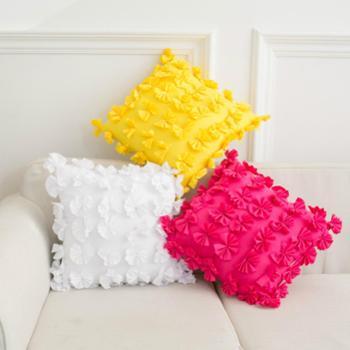 创意抱枕纯色现代简约靠垫