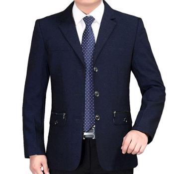 下摆男装后中开叉西服新款外套韩版新款上装潮