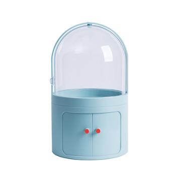 物鸣化妆品收纳盒AA082防尘透明置物架