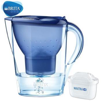 碧然德Brita金典Marella系列过滤水壶3.5L蓝色(1壶1芯)