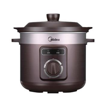 美的 陶瓷煲汤家用全自动煮粥炖汤电炖锅 MD-TGH40D