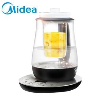 Midea/美的 多功能养生壶全自动加厚玻璃壶带炖盅MK-GE1512A