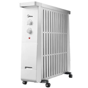 Midea/美的油汀取暖器家用节能省电暖气13片电油丁速热暖风机NY2213-17B