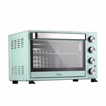 Midea/美的 家用小型全自动烘焙多功能电烤箱 PT35A0