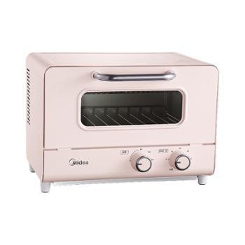 美的家用小型烘焙多功能电烤箱PT12A0