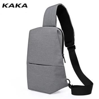 卡卡休闲运动单肩斜挎多功能户外运动防水腰包