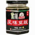 川渝乡厨 风味豆豉调料 250g/瓶