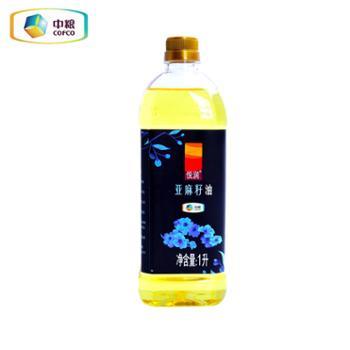 中粮 悦润亚麻籽油 1L
