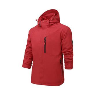 雷宾迪户外冲锋衣男女三合一两件套秋冬防水透气抓绒冲锋衣160A021A