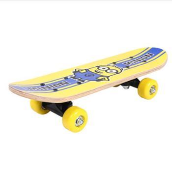 神偷奶爸小黄人儿童滑板XCD71147初学者入门四轮小滑板