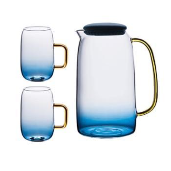 物鸣玻璃杯冷水壶套装AA045家用耐高温水杯