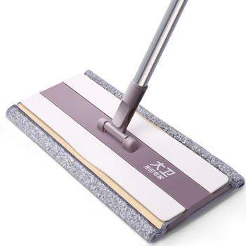 大卫平板拖把P7懒人家用瓷砖地一拖墩布拖地旋转干湿两用
