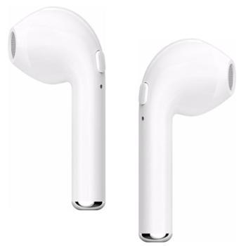 lanpice 蓝牙耳机颈挂式 4.2双耳立体 i7