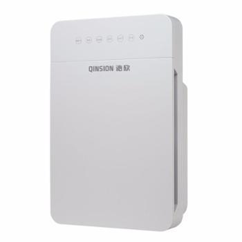 沁欣QX100空气净化器家用智能除甲醛烟雾新房装修家用办公室空气净化器白色
