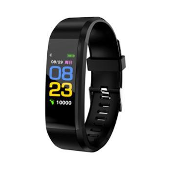 智能彩屏手环心率血压监测运动手环115plus【五款色可选】