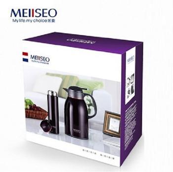 米索经典杯壶套装1.6l保温壶+0.45l保温杯礼盒套装