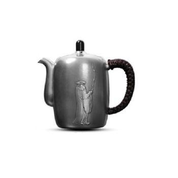 跃通银器 足银壶功夫茶具套装 道法自然