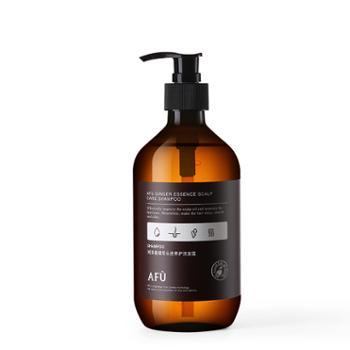 阿芙/AFU 姜精萃头皮养护洗发露 500ml 添加生姜精油 无硅油