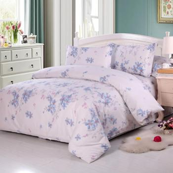 锦华家纺床上四件套纯棉被套床单枕套婚庆床品