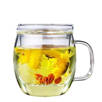博堡轻语花茶玻璃杯