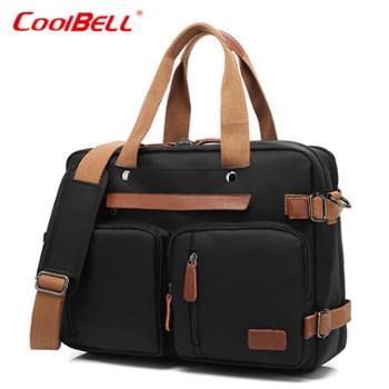 COOLBELL商务大容量15.6寸多功能电脑背包CB10001尼龙版