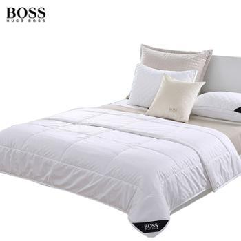 BOSS简约时尚羊毛被HBYM-0011500g