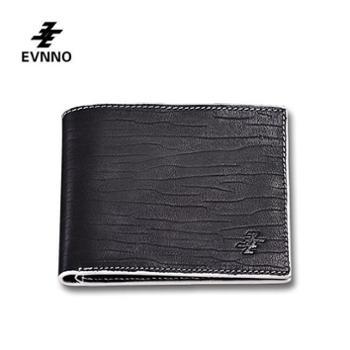 意威诺(evnno)短款钱包 超薄软皮头层牛皮钱夹 Q0481