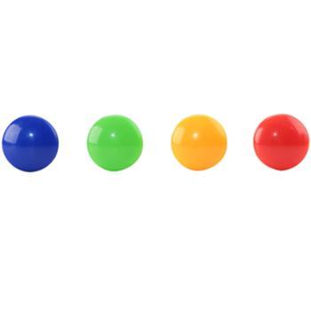 得力(deli)8726 彩色白板磁钉/吸铁石/磁铁φ40mm 24粒/筒
