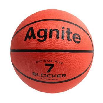 安格耐特(Agnite)F1103 7号标准比赛训练橡胶篮球 室内外通用蓝球