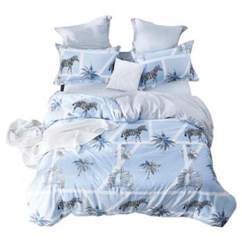 南方寝饰四件套全棉纯棉简约床单被套学生宿舍三件套单人床上用品