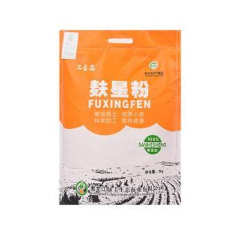 三合盛 麸星面粉 5kg