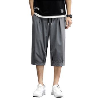 柏誉/Aeroline男式七分裤工装冰丝七分运动裤
