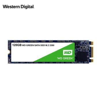西部数据/WD 计算机台式电脑PC笔记本固态硬盘 Green日常家用SSD 节能低耗绿盘M.2接口